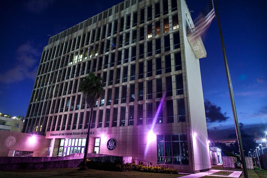 Embajada de los Estados Unidos de América en La Habana, Cuba (State Dpto. image)