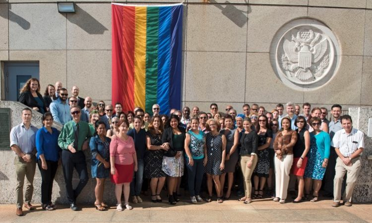 International Day Against Homophobia and Transphobia 2017. U.S. Embassy in Havana